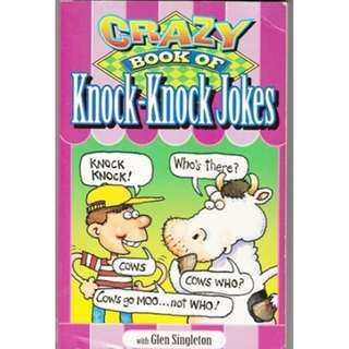 CRAZY BOOK OF KNOCK-KNOCK JOKES w/ Glen Singleton