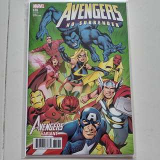 Avengers #676 Variant Cover Comic (Marvel)