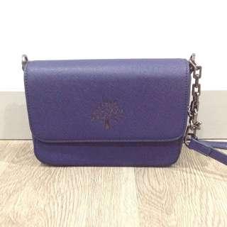 Copy ori Mulberry sling bag saffiano effect