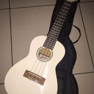 White Ukelele (Used once)