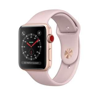 Apple Pink Sand Sport Band 粉色運動錶帶