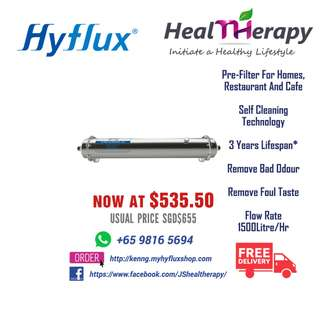 HYFLUX Central Water Filtration System UF-1500