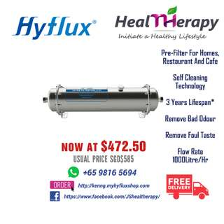 HYFLUX Central Water Filtration System UF-1000