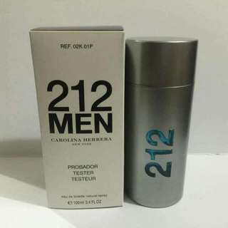AUTHENTIC CAROLINA HERRERA 212 MEN EDT 100ml