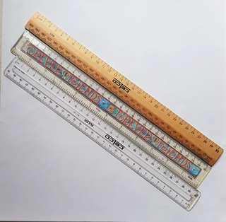 [BULK BUY] 30cm Rulers - Used