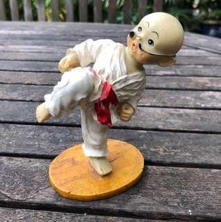 Judoka figurine
