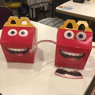 Box Happy meal mcdonald