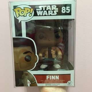 Funko Pop Star Wars Finn with Lightsaber