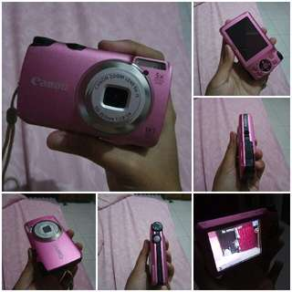 [Nego Tipis] Kamera Canon Powershoot A3200 IS
