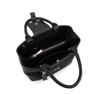 Black Shoulder / Hand Carry Bag