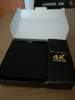 Faulty MXQ-4k Android TV box