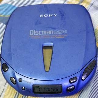 SONY D-E445 正常可用CD播放機
