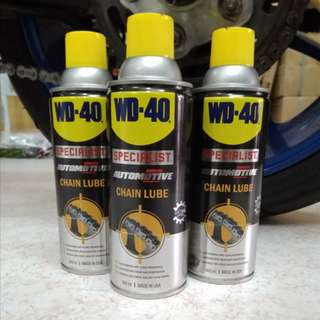 WD40 Chain lube
