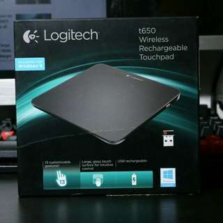 Logitec t650 Wireless Rechargeable TouchPad