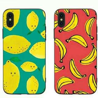 香蕉,檸檬 水果iPhone case