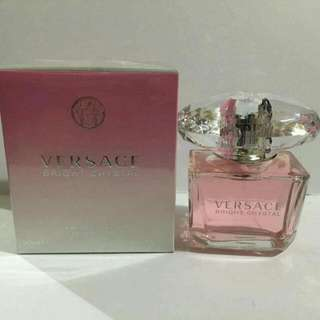 AUTHENTIC VERSACE BRIGHT CRYSTAL EAU DE PERFUME FOR WOMEN 90ml