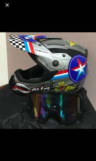 (INSTOCK) Full Face Helmet