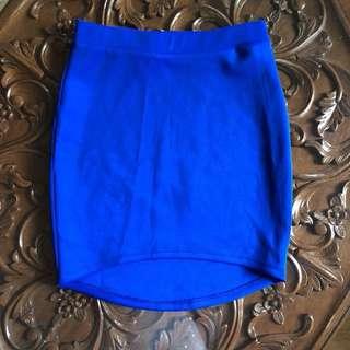Forever 21 Royal Blue Pencil Skirt