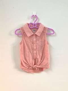 Baby Girl Old Navy Sleeveless Shirt