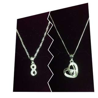 Take all Authentic 925 Italy Silver Necklace