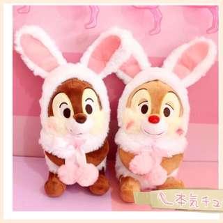 日本Chip n Dale 新款扮兔仔扮雞仔超可愛😍😍