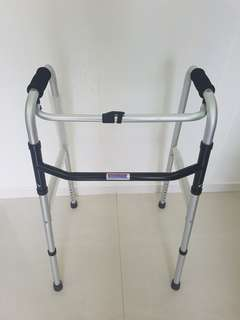 Foldable walking Frame - only use due to foot injury