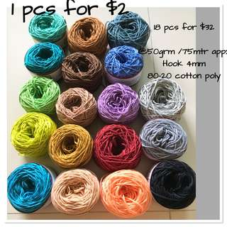 (pending)  Clearance Balinese cotton yarn