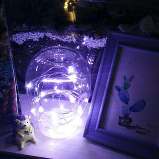 Fairy Light in glass