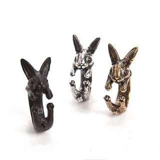 190-Silver Rabbit Ring