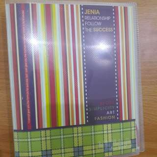 Preloved Binder Jenia (Ga Include Isi)