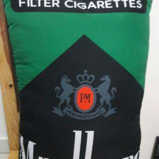 Marlboro Menthol Black Pillow Great for Gifts!