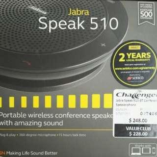 Jabra 510 portable wireless speaker