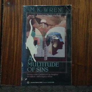 A Multitude of Sins [M.K. Wren]