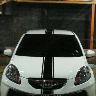Honda Brio E CBU AT Modif Saloon Interior Kulit