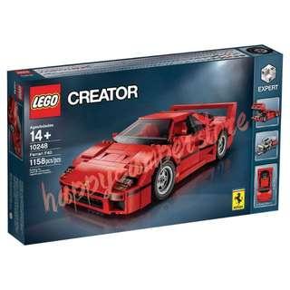 全新Lego 樂高 Creator 10248 Ferrari F40 法拉利
