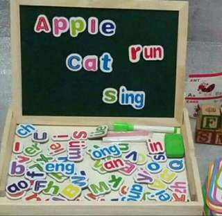 2 sided magnetic board(letters)