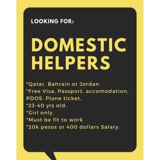 Domestic Helper Abroad