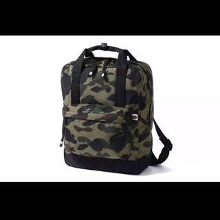 a bathing ape bag 背包 兩用