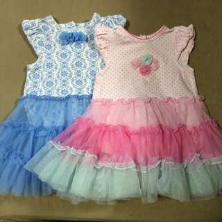 Little Me onesie dresses