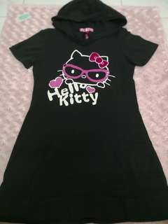Kilara Hello Kitty Top with hoodie Size S
