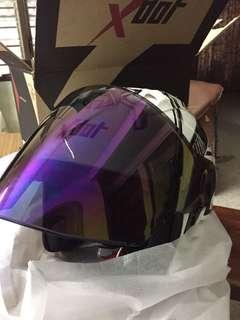 XDot Marc marquez white helmet