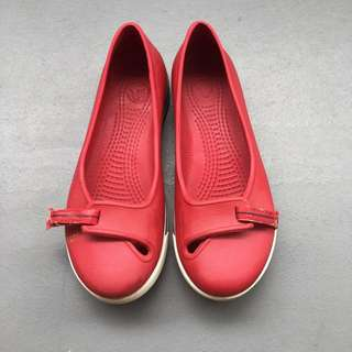 Crocs Red Shoes W5
