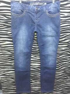 Guess denim jeans (plus size)