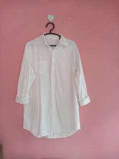 White shirt. Putih bersih no defect setitikpun