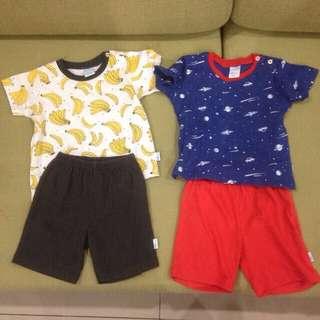 Unisex Tops & Shorts Sets