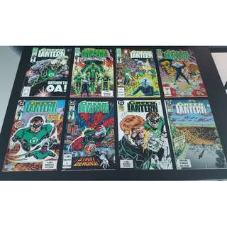 Green Lantern #1-8 (1990,2nd Series) Set of 8- Complete Story-Arc