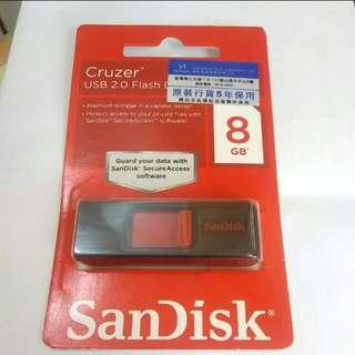 San Disk 8gd 手指 記憶棒 Usb