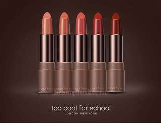 Too Cool For School Glam Rock Hush Brown Moderate lipstick