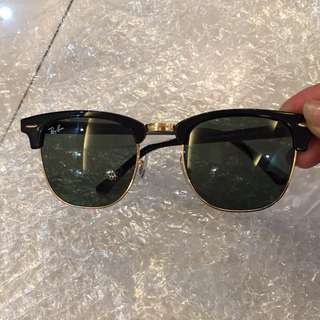 ray ban clubmaster rb3016 49mm size 51mm size rayban brand new full packages original