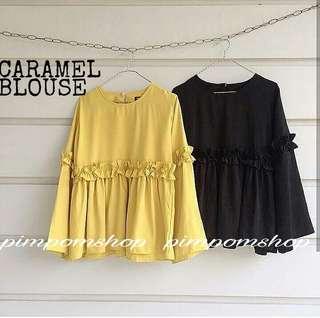 Caramel blouse